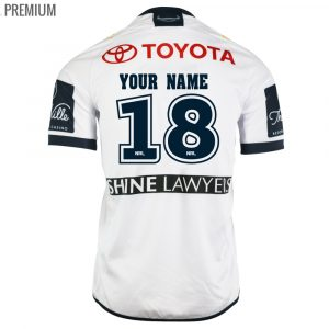2018 North Queensland Cowboys Away Mens Jersey - Premium