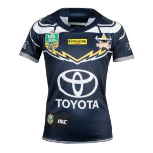 2018 North Queensland Cowboys Home Womens Jersey - Front