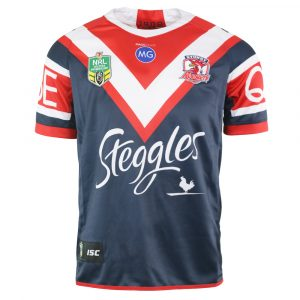 2018 Sydney Roosters Home Mens Jersey - Front