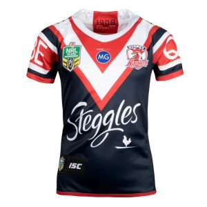 2018 Sydney Roosters Home Youth - Front