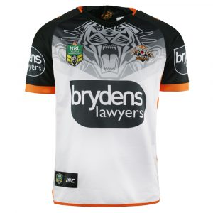 2018 Wests Tigers Away Mens Jersey - Front