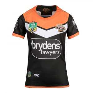 2018 Wests Tigers Home Womens Jersey - Front