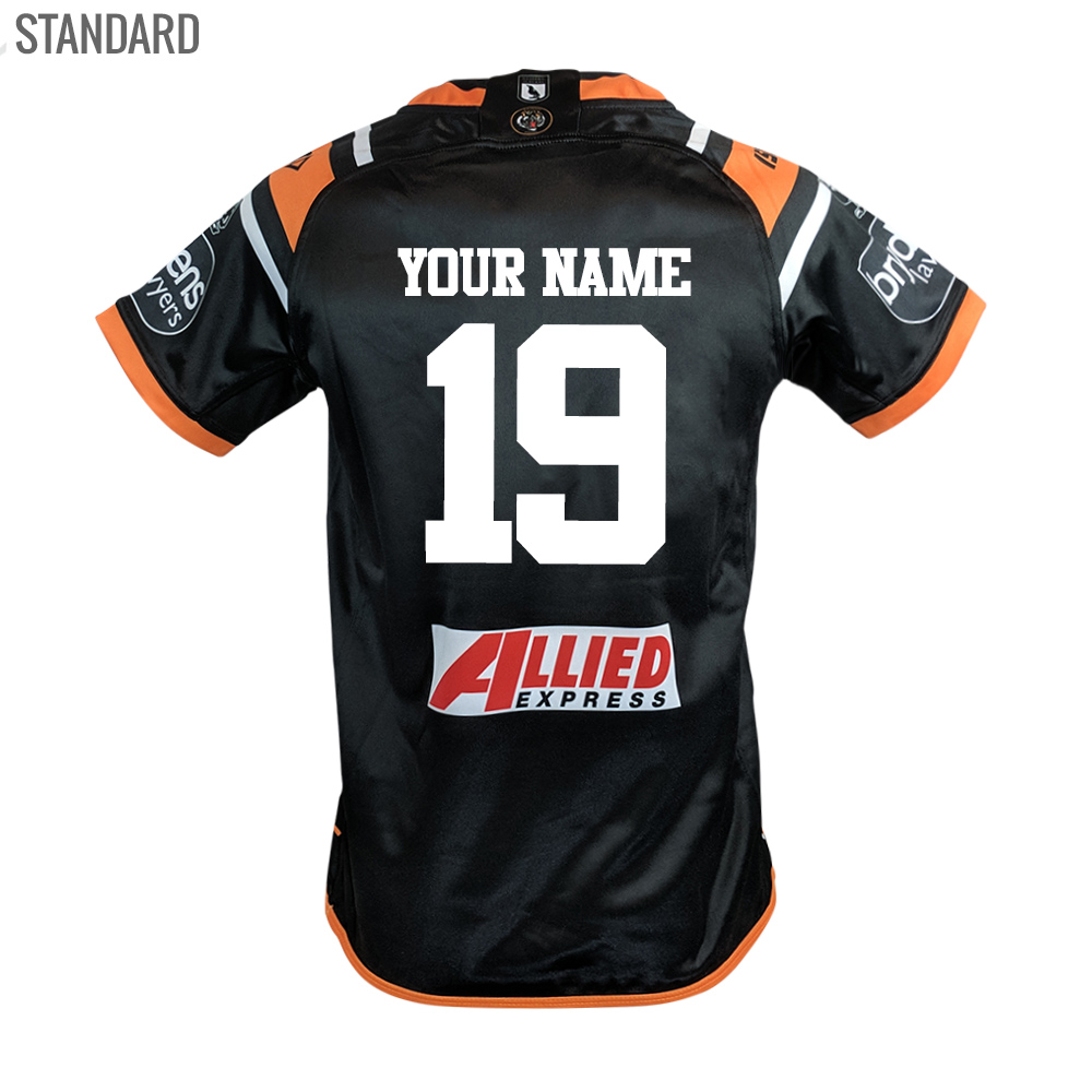 Buy 2019 Wests Tigers Home Jersey - Youth - Your Jersey 56f55a133