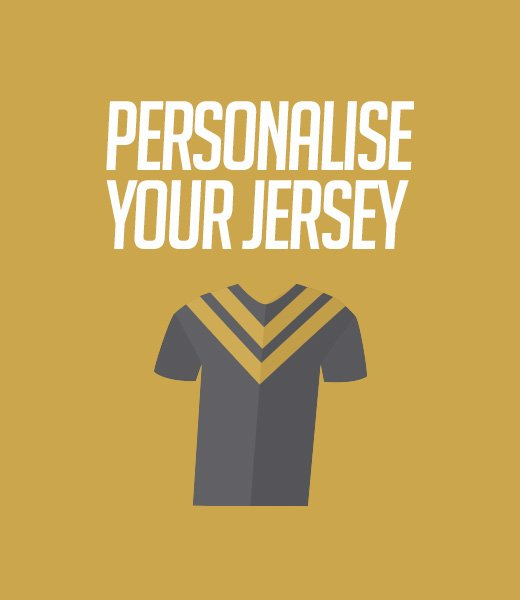 Personalised Jerseys - Your Jersey Banner