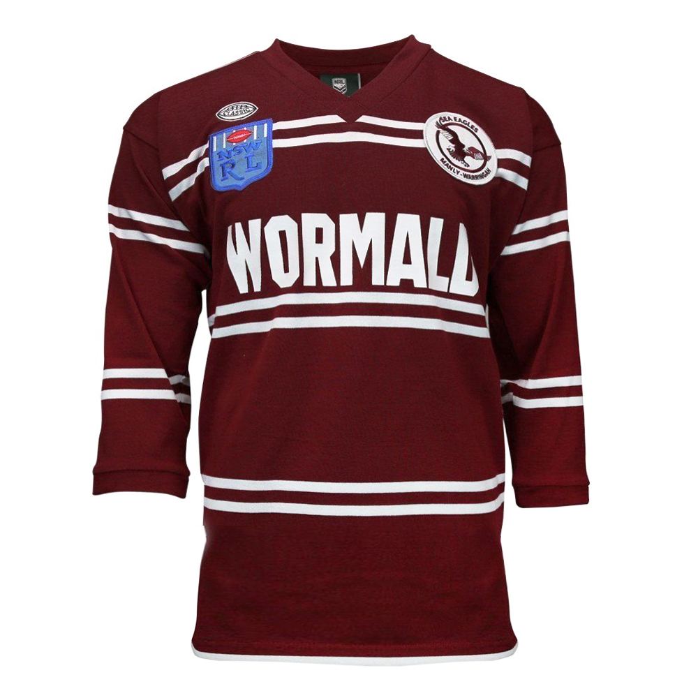info for 12e92 41e1b Buy 1987 Manly Sea Eagles Retro Jersey - Mens - Your Jersey