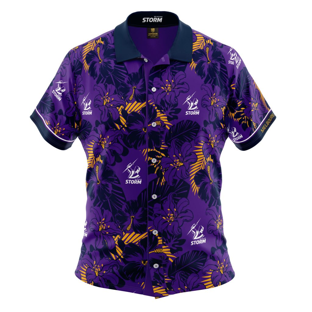 Design Your Own Home Nsw Buy 2019 Melbourne Storm Hawaiian Shirt Youth Your Jersey