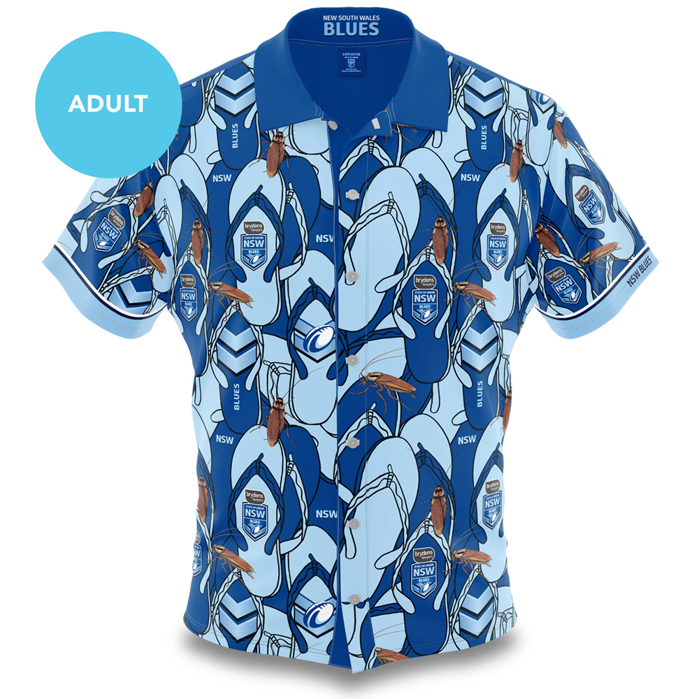Supporter T-shirt Sport Top-2020Home-XXXXXL Mens Rugby jersey NSW Blues State of Origin Jersey 2020 Breathable Football T-shirt